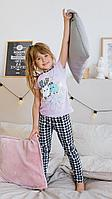 Batik Костюм футболка и брюки для девочки (00186_BAT)