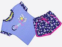 Batik Костюм футболка шорты для девочки (01159_BAT)
