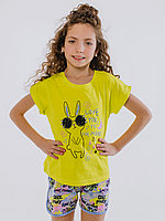 Batik Костюм футболка шорты для девочки (01160_BAT)
