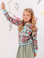 Batik Свитшот (пуловер) для девочки (00723_BAT)