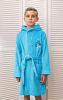 Batik Халат односторонняя махра с начесом для мальчика (01367_BAT)