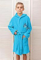 Batik Халат односторонняя махра с начесом для мальчика (01368_BAT)