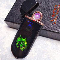 """USB зажигалка """"Волк"""". LIGHTER в подарочной коробке., фото 1"""