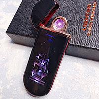 """USB зажигалка """"Корабль"""". LIGHTER в подарочной коробке., фото 1"""