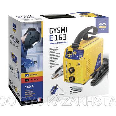 ОДНОФАЗНЫЙ ИНВЕРТОРНЫЙ АППАРАТ ММА Poste de soudure GYSMI E163 - Avec valise et accessoires, фото 2