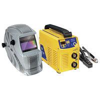 Сварочный аппарат инверторный типа ММА Набор E200 FV + LCD HERMES 9/13 G