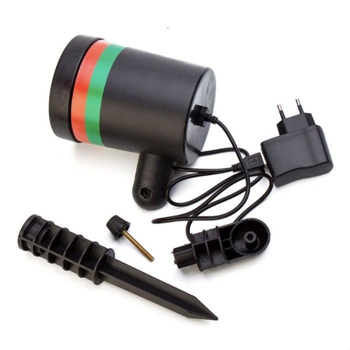 Лазерный проектор/гирлянда/Лазерное шоу/освещение/светомузыка гирлянда - фото 2