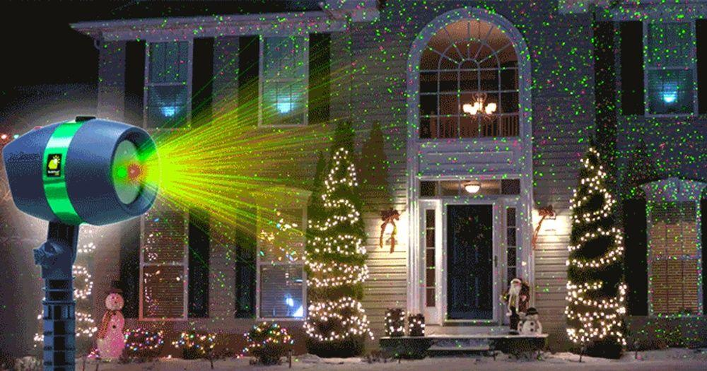 Лазерный проектор/гирлянда/Лазерное шоу/освещение/светомузыка гирлянда - фото 3