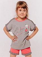 Batik Комплект футболка и шорты для девочки (00714_BAT)