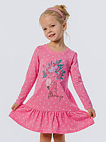 Batik Туника (платье) для девочки с длинным рукавом (00630_BAT)