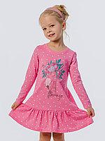 Batik Туника (платье) для девочки с длинным рукавом (00631_BAT)