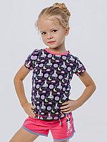 Batik Костюм футболка шорты для девочки (01161_BAT)