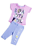 Batik Костюм футболка шорты для девочки (01165_BAT)