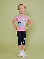 Batik Костюм футболка шорты для девочки (01166_BAT)