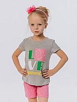 Batik Костюм футболка и шорты для девочки (00675_BAT)