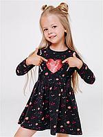 Batik Платье для девочки с длинным рукавом (01482_BAT)