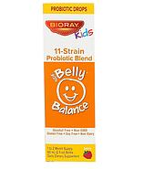 Bioray, Kids, NDF Belly Balance, пробиотическая смесь из 11 штаммов с ягодным вкусом, 60 мл (2 жидких унции), фото 2