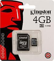Micro SD флешка 4gb