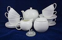 Фарфоровый чайный сервиз 6 персон Розалия (Акку, Казахстан)