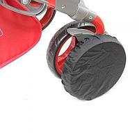 Чехлы на колёса для прогулки 6 шт в комплекте ГЕРАСИМ (D=26 D=26 см)