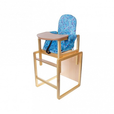 Стул-стол для кормления СЕНС-М АЛЕКС Голубой