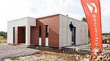 Каркасный дом 73m2 из ЛСТК 8х8m, фото 2