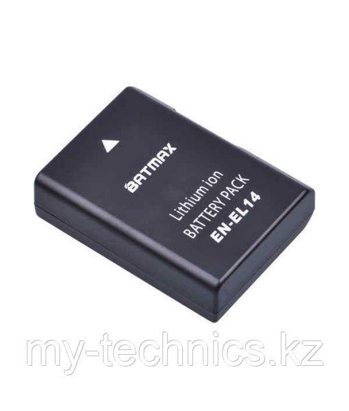 Аккумулятор батарея Batmax EN-EL14