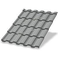 Металл Профиль Металлочерепица МП Монтекристо-SL NormanMP (ПЭ-01-9006-0.5)