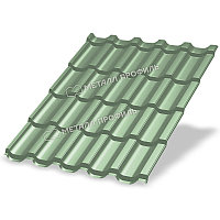 Металл Профиль Металлочерепица МП Трамонтана-SL NormanMP (ПЭ-01-6019-0.5)