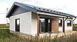 Каркасно модульный дом 120m2 из ЛСТК 10х13m, фото 2