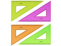 Линейка-треугольник 19см
