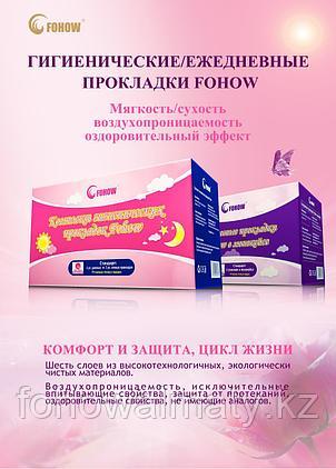 Лечебные анионовые прокладки Fohow сухость, свежесть, предотвращение развития инфекций, фото 2