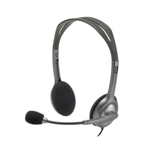 Logitech Stereo Headset H110 гарнитура (981-000271)