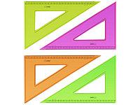 Линейка-треугольник 23см