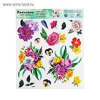Наклейка виниловая «Весенний романс», интерьерная, без клея, 30 х 35 см