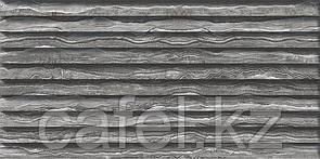 Кафель | Плитка настенная 30х60 Сити | City темно-серый рельеф