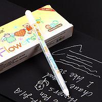 Ручка с белыми чернилами Flowers (детская) 0,8 мм