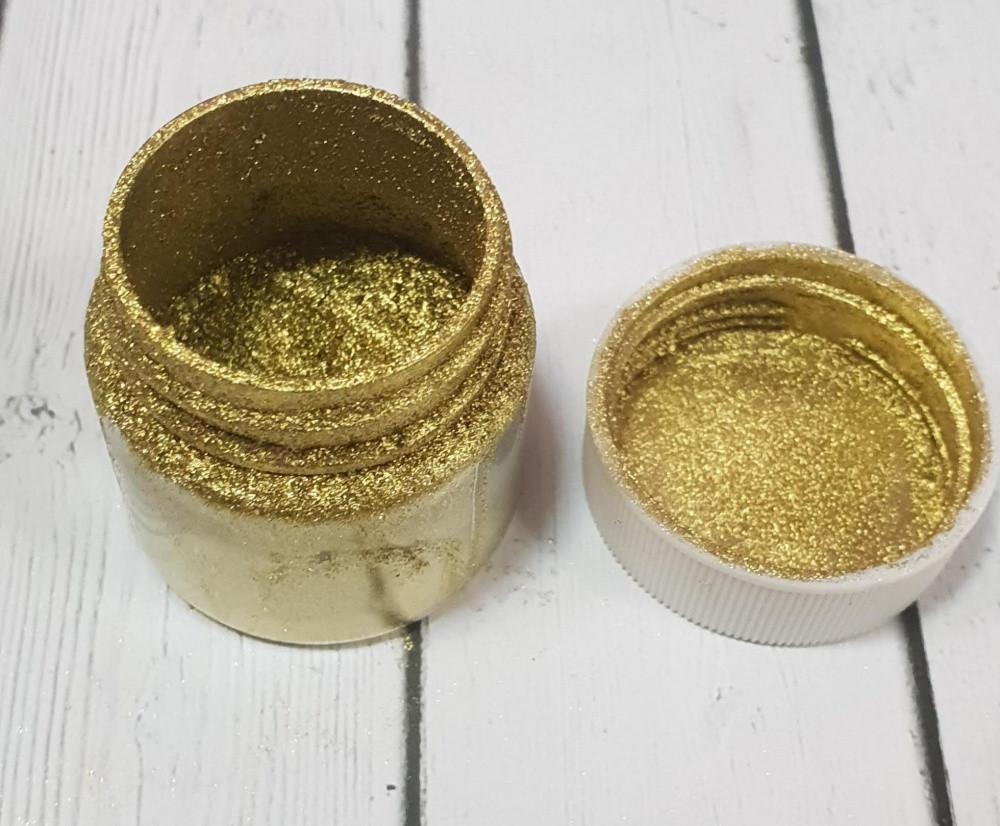 Кандурин ПЛОТНОЕ ЗОЛОТО, жёлтый оттенок, 10 гр