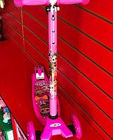Трехколесный самокат maxi scooter принцессы disney