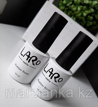 База LARO Nails (прозрачная каучуковая база), 10мл