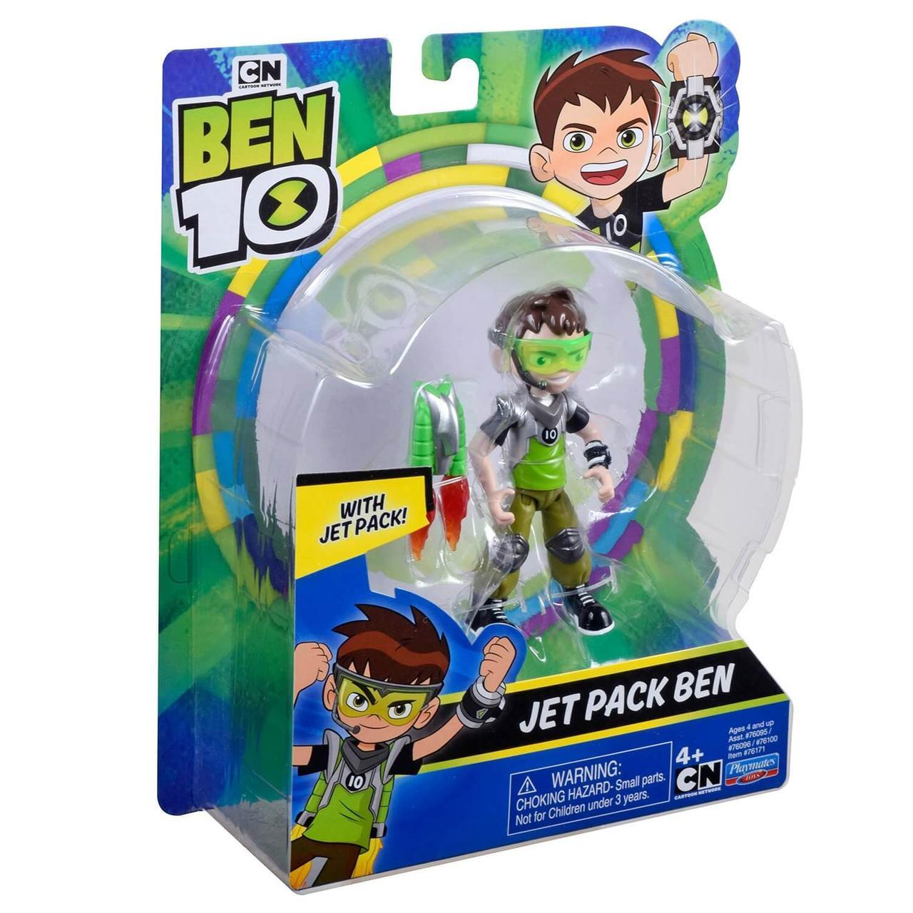 Ben 10 Фигурка 12.5 см, Бен с реактивным рюкзаком