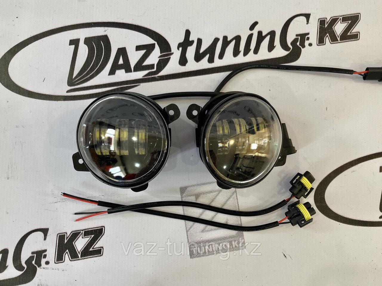 Противотуманные фары LED Гранта/Калина-2/ Ларгус