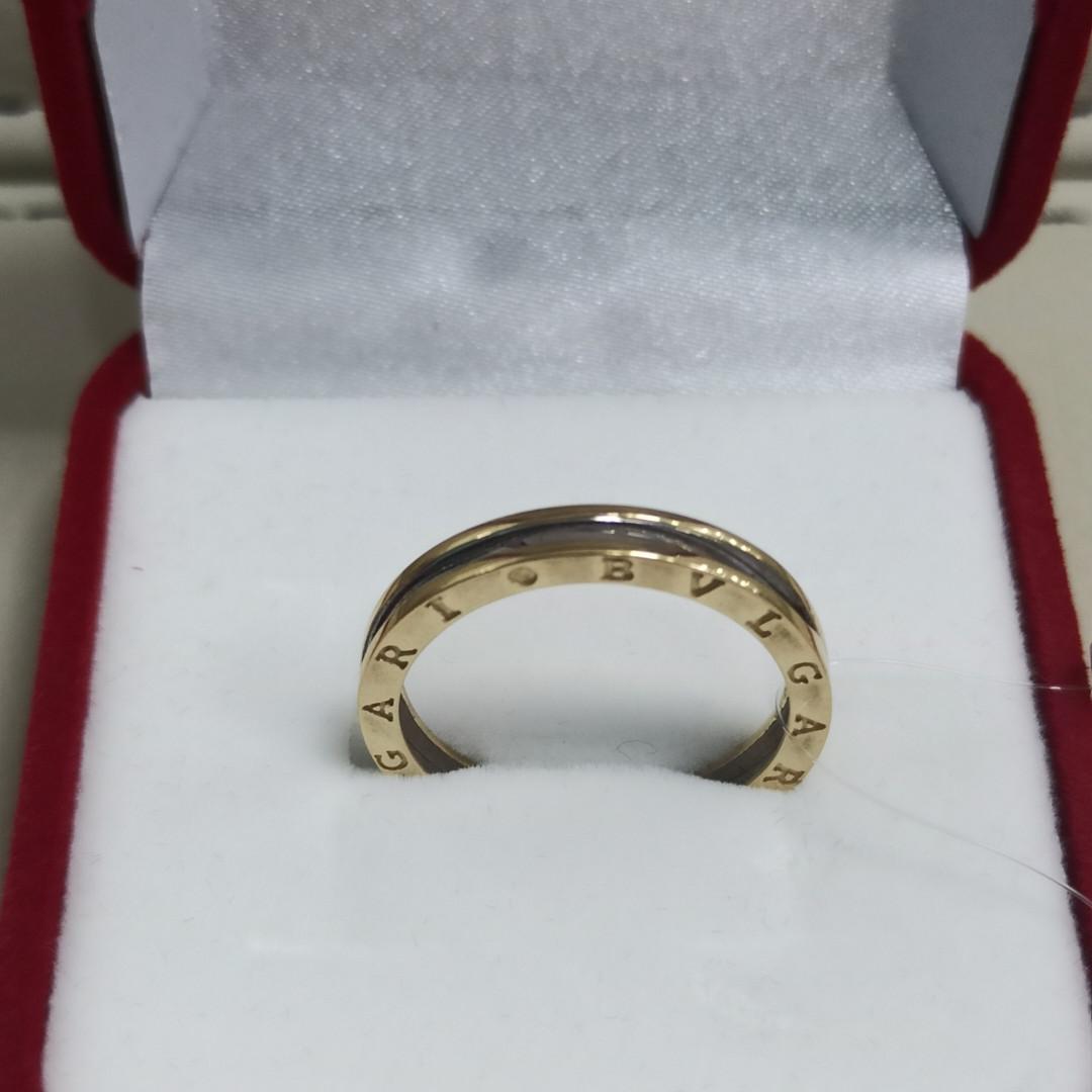 Кольцо /жёлтое, белое золото - 18,5 - 19 размер