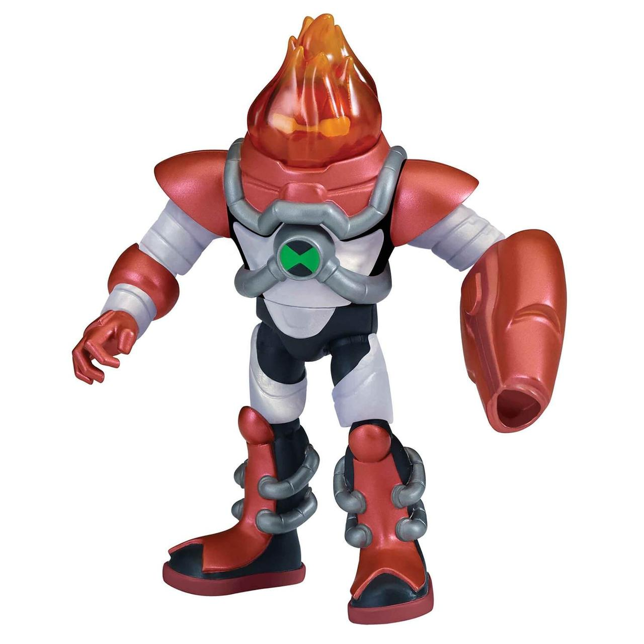 Ben 10 Фигурка 12.5 см, Бронированный Человек-огонь