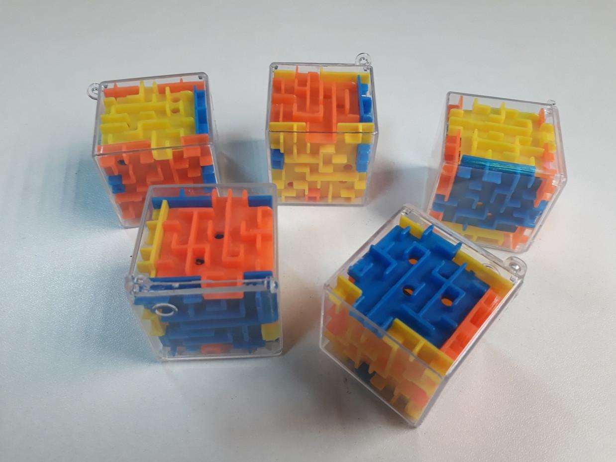 Игрушка Шарик в кубе. Головоломка. Развивашка. Концентрация. Антистресс