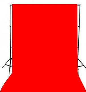 Красный фон 3х3 м Студийный, тканевый, фото 2