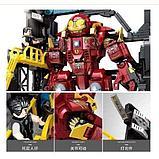 Конструктор аналог Лего Мстители железный человек LEGO Марвел 76105 Халкбастер, 785 дет. SY1380, фото 4