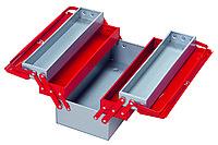 Ящик для инструментов металлический 5 лотка 190x520x200 IZELTAS