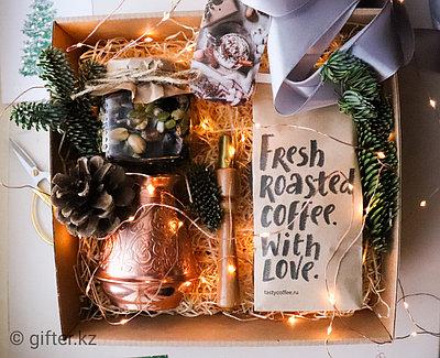 "Подарочный бокс на новый год ""Time for coffee"""