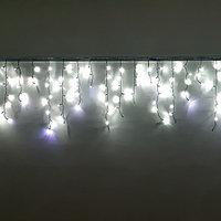 "Светодиодная уличная гирлянда ""Бахрома"" - 3х0,8 метра, 115 лампочек, белый свет"
